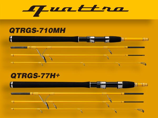 クワトロ QTRGS-710MH, QTRGS-77H+